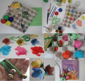 Creatividad y diseño a la hora de hacer marcadores de libros. Fuente: imagen cedida por la Biblioteca Insular de Lanzarote