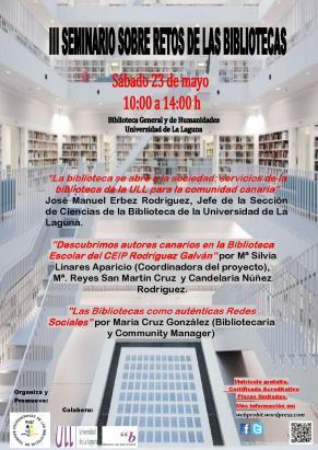 Cartel III Seminario rojo qr2